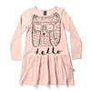 Minti Hello Bear Echo Dress Blush Marle | 50% OFF LAST ONE SIZE 8