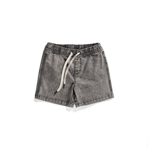 Minti Volley Short - Black Wash