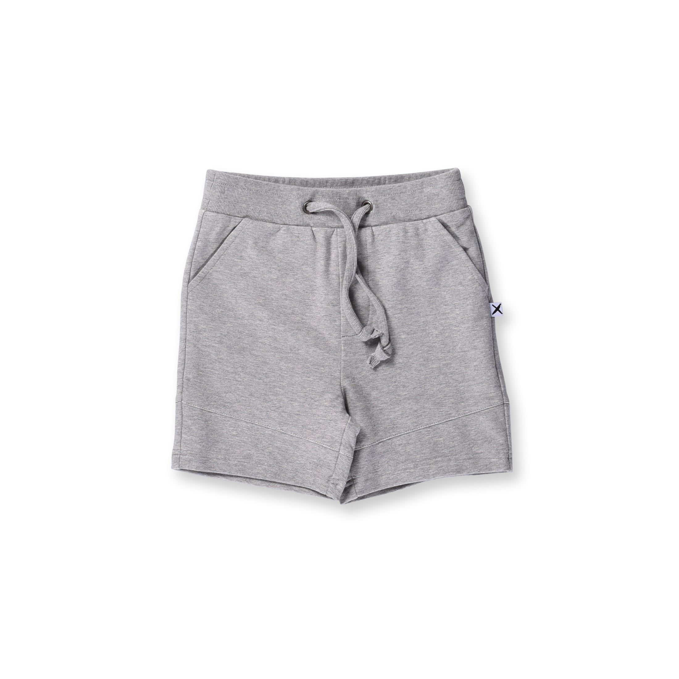 Minti Sliced Short Grey Marle