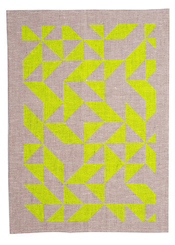 MOD Tea Towel Neon - Yellow