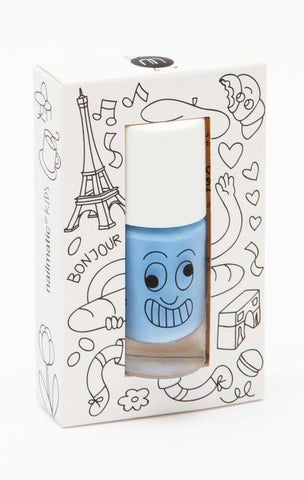 Nailmatic Kids Nail Polish Gaston Blue