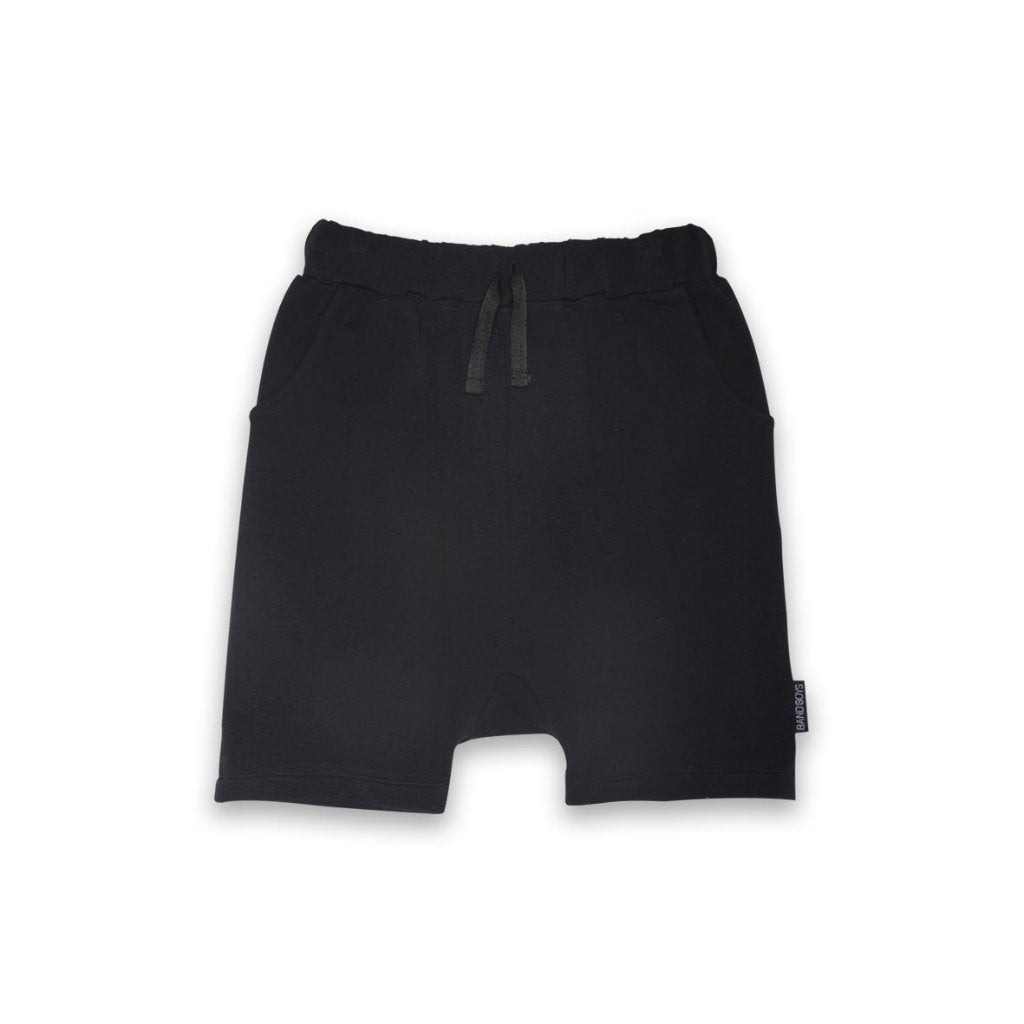 60% OFF Band of Boys Organic Kids Shorts Black LAST PAIR SIZE 6