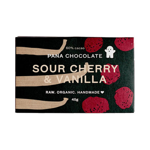 Pana Chocolate - Sour Cherry & Vanilla