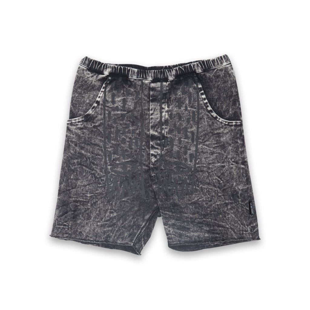Band of Boys Denim Claws Shorts Washed Black