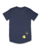 40% OFF Band of Boys Cat Badges Tee Navy