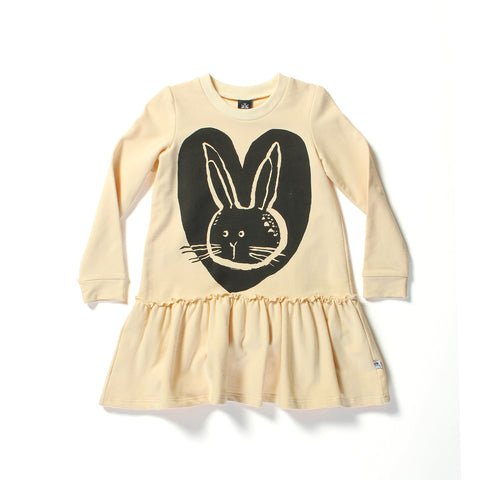 Littlehorn Bunny Love Dress Sand | 50% OFF