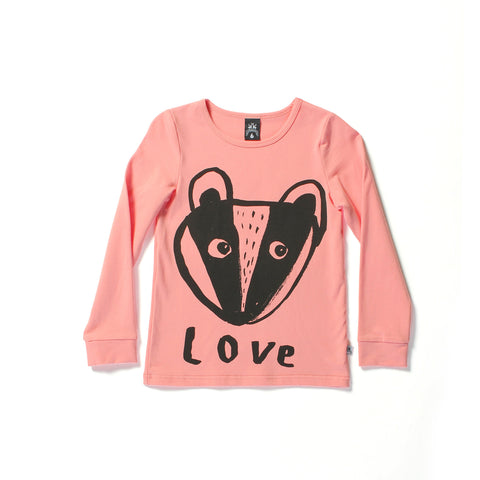Littlehorn Love Tee Sorbet | LAST ONE SIZE 2 50% OFF