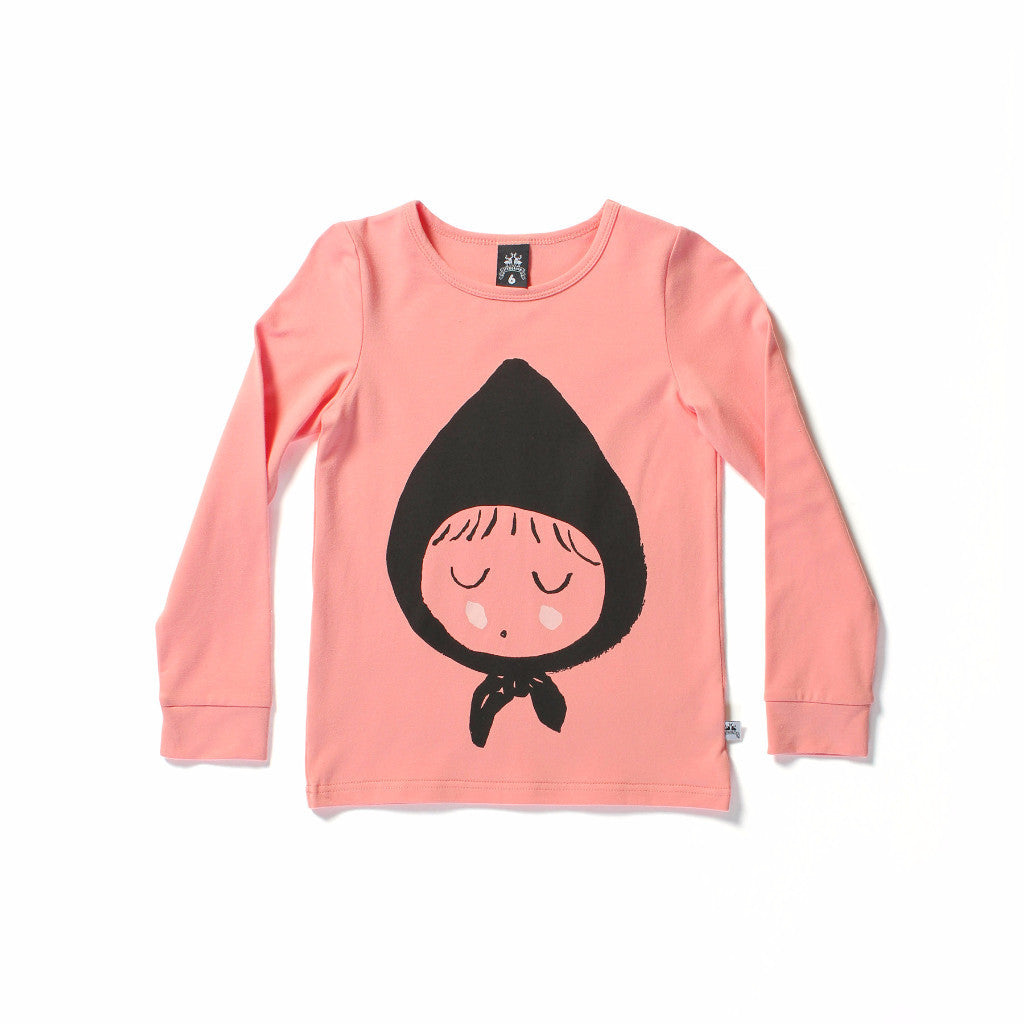 Littlehorn Riding Hood Tee Sorbet | LAST ONE SIZE 1
