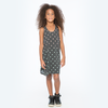 40% OFF Zuttion Diamond Graduation Singlet Dress Charcoal