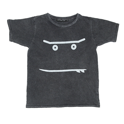 60% OFF Zuttion Smiley SS Tee Charcoal LAST ONE SIZE 2