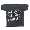 40% OFF Zuttion Natural Born Thriller SS Tee Charcoal