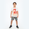 Zuttion Peace 3D SS Tee White