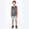 Zuttion Hell Yeah Tank Top Charcoal