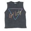 Zuttion Get Lucky Tank Top Charcoal