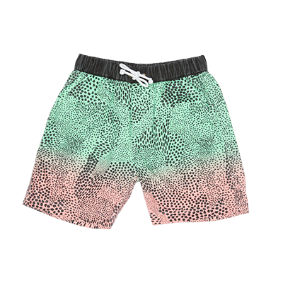 40% OFF Zuttion Abstract Boat Short Rainbow