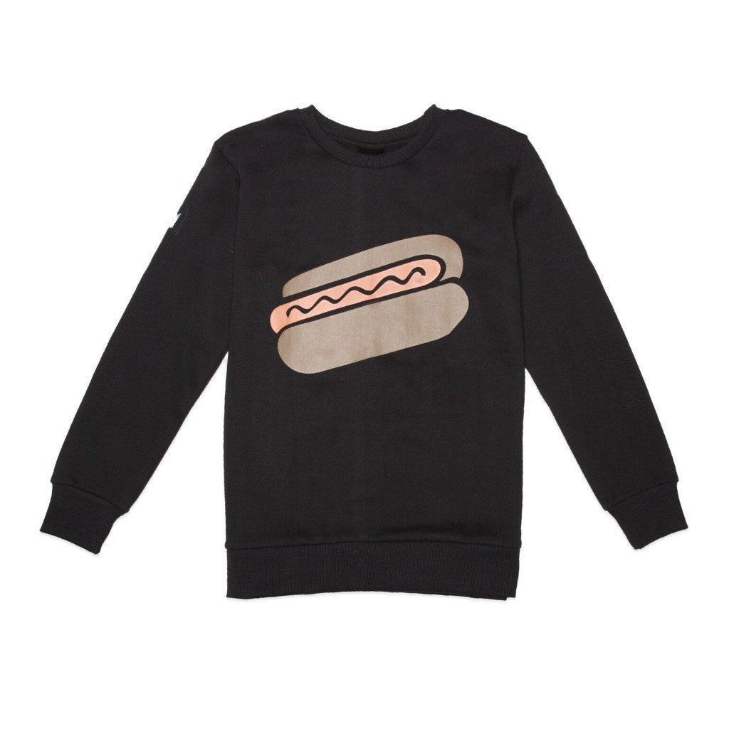 Band of Boys Classic Crew Hot Dog Black