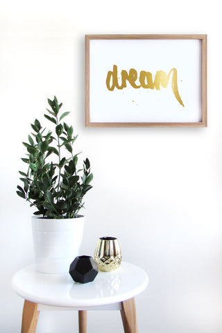 Dream Print -Gold Foil