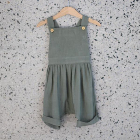 Ruffets & Co Billie Shortalls - Khaki