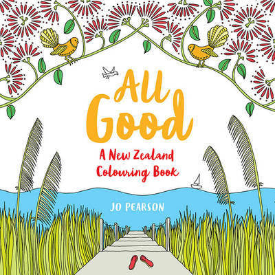 All Good - A NZ colouring book