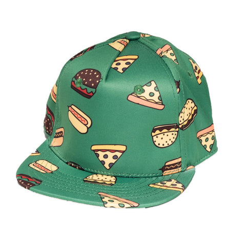 Band of Boys Cap Hip Hop Takeout Green