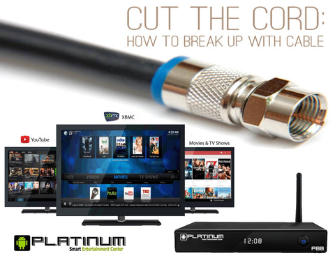 P88 Platinum TV Entertainment System - Powered by Android