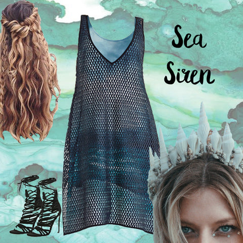 Euphoria Design NZ Halloween Sea Siren Dress