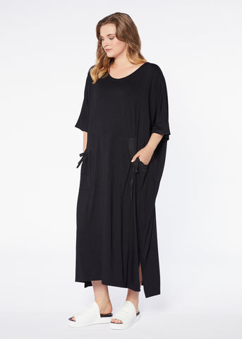 Frame Dress - Black