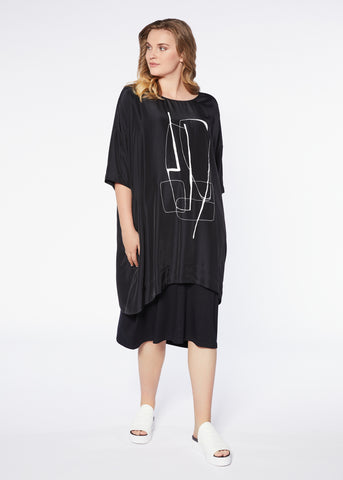 Row Dress - Black Milk