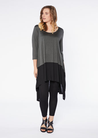 Tanuki Dress - Caper Black