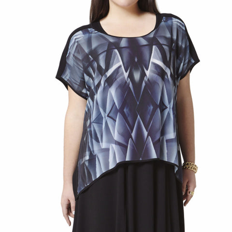 Prism Top - Foggy Black