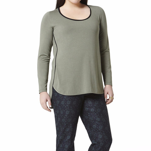 Planet Top - Dusty Olive