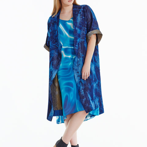Out of the Blue Kimono Coat - Goodnight
