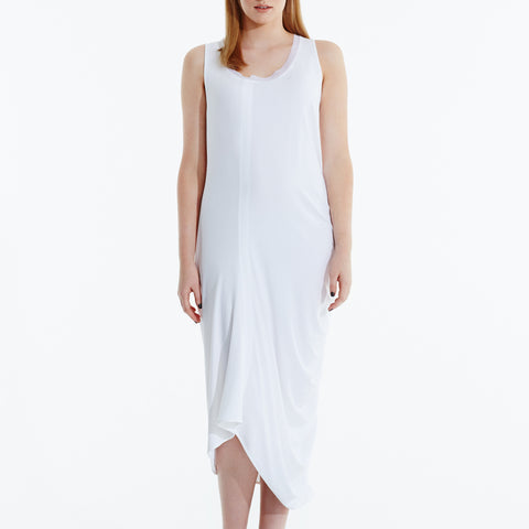 Less is More Dress - White