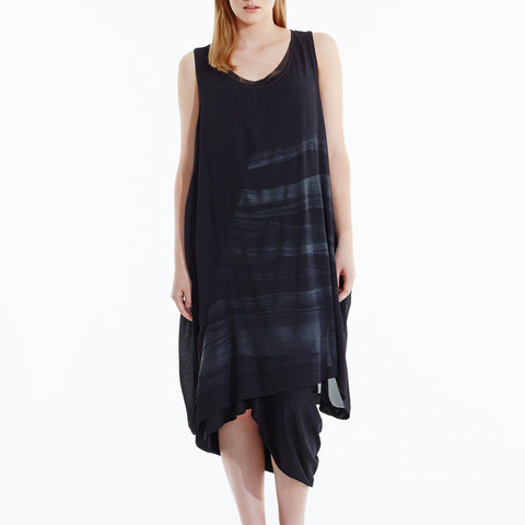 Middle of Nowhere Dress - Black Black