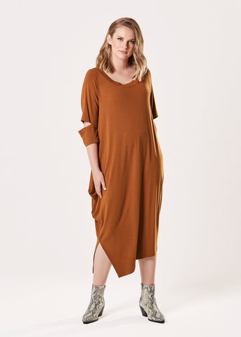 Kahlo Dress - Gingernut