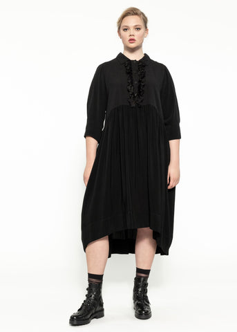 Planet Dress - Black Flint