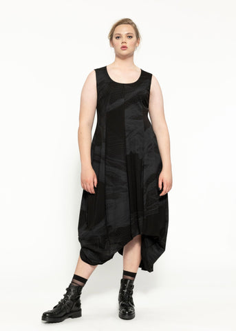 Mineral Dress - Black Sulphur