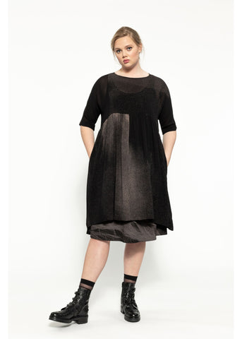 Seedling Dress - Black Shadow