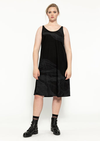 Thorne Dress - Black Sulphur