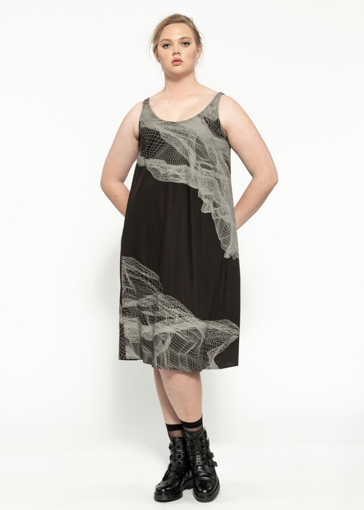 Thorne Dress - Oil Quartz