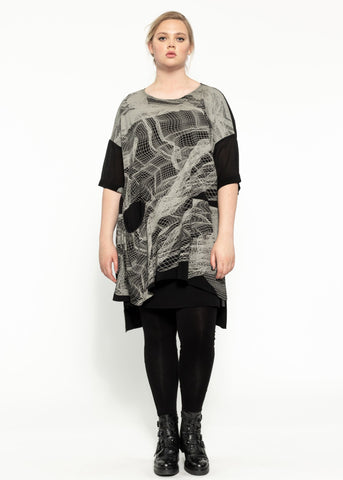 Heath Dress - Black Quartz