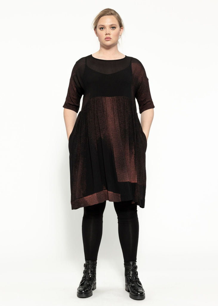 Seedling Dress - Black Garnet
