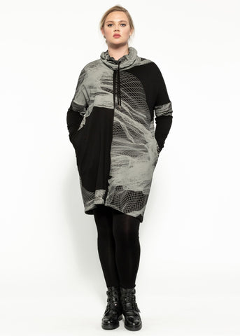 Climate Dress - Black Quartz
