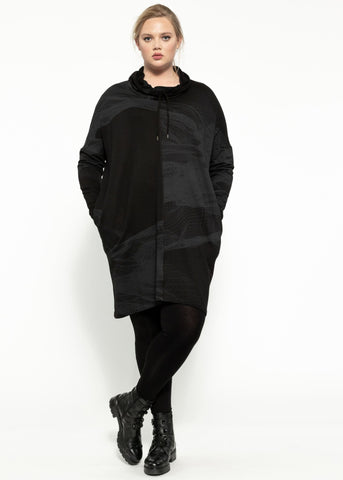 Climate Dress - Black Sulphur
