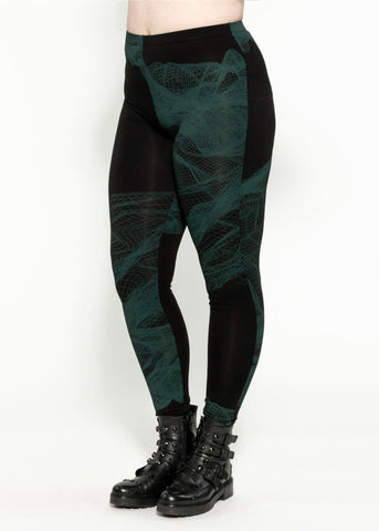 Hectic Legging - Black Ivy