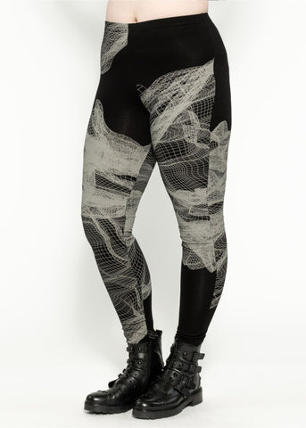 Hectic Legging - Black Quartz