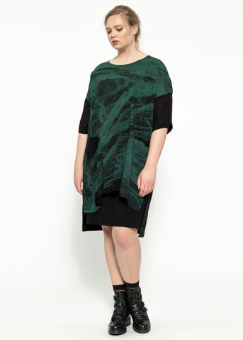 Heath Dress - Black Ivy