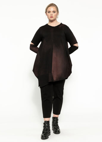 Sanctuary Top - Black Garnet