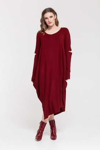 Hutton Dress - Cherry