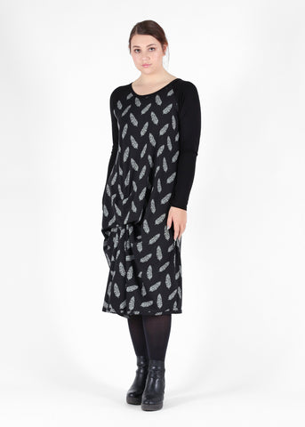 Harper Dress - Black Black